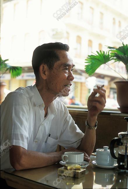 Pham Xuan An, ex-Time magazine correspondent and spy for North Vietnam during the Vietnam war. Saigon, Vietnam, March 2000.