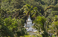 Church on the island of Chuuk, Micronesia