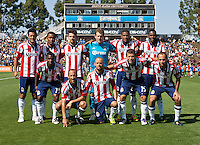 Santa Clara, California - Sunday May 13th, 2012: Chivas USA starting line up before the match at Buck Shaw Stadium, Chivas USA 1 - 1 draw with San Jose Earthquakes