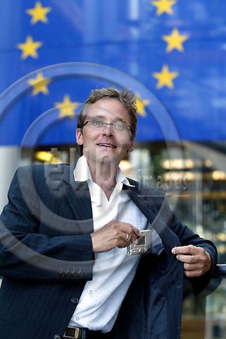STRASBOURG - FRANCE  -20 JULY 2004--Anders.SAMUELSEN , Danish MEP for the ALDE Group.--PHOTO: ERIK LUNTANG / EUP-IMAGES