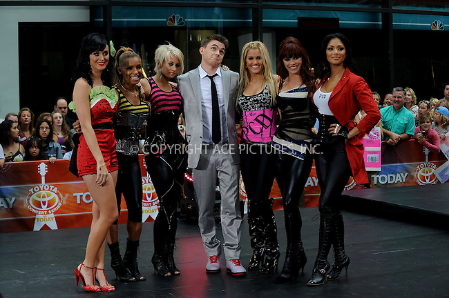 WWW.ACEPIXS.COM . . . . .....August 29, 2008. New York City.....Singers Katy Perry, the Pussycat Dolls and Jesse McCartney perform on NBC's 'Today Show' at Rockefeller Plaza on August 29, 2008 in New York City...  ....Please byline: Kristin Callahan - ACEPIXS.COM..... *** ***..Ace Pictures, Inc:  ..Philip Vaughan (646) 769 0430..e-mail: info@acepixs.com..web: http://www.acepixs.com