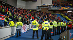 25.10.18 Rangers v Spartak Moscow: Spartak Moscow fans