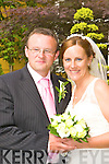 Marian, daughter of Thomas and Mena O'Driscoll, Knoppogue Point, Ballyduff and Michael, son of the late Willie and Patricia Costello, Lixnaw who were married on Saturday in the Prince of Peace Church, Fossa. Fr Brendan Walsh officiated at the ceremony. Best man was Paddy Costello. Bridesmaid was Karen O'Driscoll. The reception was held in the Killarney Park Hotel and the couple will reside in Cork..
