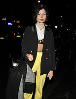 Nina Nesbitt at the LFW s/s 2018 Vin + Omi catwalk show &amp; afterparty, Andaz Liverpool Street Hotel, Liverpool Street, London, England, UK, on Monday 11 September 2017.<br /> CAP/CAN<br /> &copy;CAN/Capital Pictures