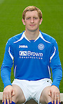 St Johnstone FC...Season 2011-12.Liam Craig.Picture by Graeme Hart..Copyright Perthshire Picture Agency.Tel: 01738 623350  Mobile: 07990 594431