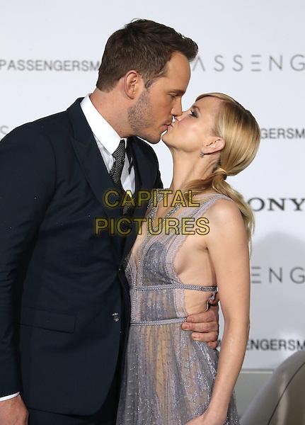 14 December 2016 - Westwood, California - Anna Faris, Chris Pratt. &quot;Passengers&quot; Los Angeles Premiere held at Regency Village Theatre. <br /> CAP/ADM/FS<br /> &copy;FS/ADM/Capital Pictures