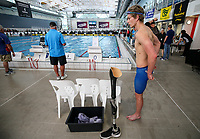 in action during the Swimming New Zealand Short Course Championships,Owen G Glenn National Aquatic Centre, Auckland, New Zealand, Tuesday 3 October 2017. Photo: Simon Watts/www.bwmedia.co.nz