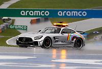 11th July 2020; Styria, Austria; FIA Formula One World Championship 2020, Grand Prix of Styria qualifying sessions; F1 Safety Car, Mercedes-AMG GT R, heavy rain Spielberg Austria
