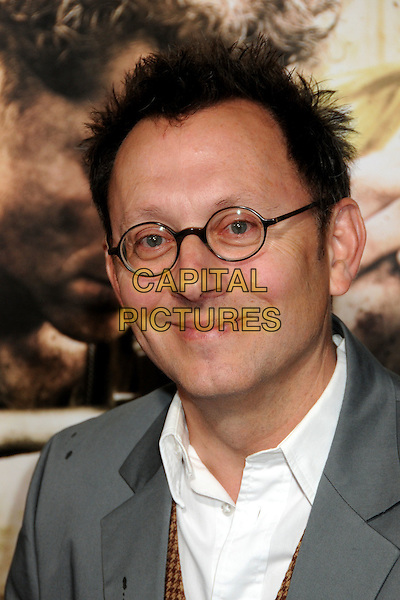"MICHAEL EMERSON.HBO's ""The Pacific"" Mini-Series Premiere held at Grauman's Chinese Theatre, Hollywood, California, USA..February 24th, 2010.headshot portrait white glasses grey gray .CAP/ADM/BP.©Byron Purvis/AdMedia/Capital Pictures."