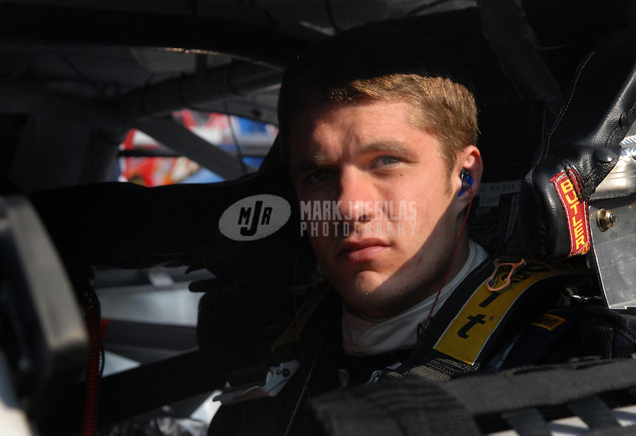 Feb 10, 2007; Daytona, FL, USA; Nascar Nextel Cup driver David Ragan (6) during practice for the Daytona 500 at Daytona International Speedway. Mandatory Credit: Mark J. Rebilas