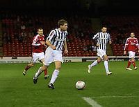 David van Zanten in the Aberdeen v St Mirren Scottish Communities League Cup match played at Pittodrie Stadium, Aberdeen on 30.10.12.