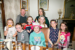 Ava Duffy from Dingle celebrating her 10th birthday with friends and family at Bella Bia's on Friday night. Front l-r  Claudia Duffy, Niamh Ni Gearailt, Ava Duffy, Roisin Doyle and Aiveen Dalby. Back l-r  Damien Duffy, Maeve Fitzgerald, Gertie Walsh and Roisin Dalby