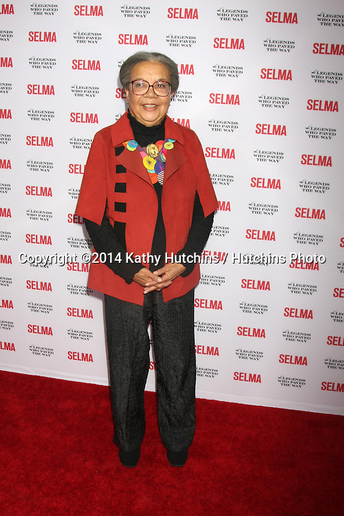 "SANTA BARBARA - DEC 6:  Marian Wright Edleman at the ""Selma"" & Legends Who Paved the Way Gala at the Bacara Resort & Spa on December 6, 2014 in Goleta, CA"