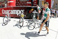 Danail Andonov (l) and Andre Fernando Cardoso during the stage of La Vuelta 2012 between Logroño and Logroño.August 22,2012. (ALTERPHOTOS/Acero) /NortePhoto.com<br /> <br /> **SOLO*VENTA*EN*MEXICO**<br /> **CREDITO*OBLIGATORIO**<br /> *No*Venta*A*Terceros*<br /> *No*Sale*So*third*<br /> *** No Se Permite Hacer Archivo**<br /> *No*Sale*So*third*