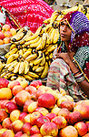 Fruite and vegetable sellers, Pushkar, India