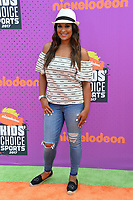 Laila Ali at Nickelodeon's Kids' Choice Sports 2017 at UCLA's Pauley Pavilion. Los Angeles, USA 13 July  2017<br /> Picture: Paul Smith/Featureflash/SilverHub 0208 004 5359 sales@silverhubmedia.com
