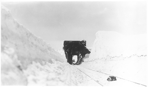 Snowshed.<br /> D&amp;RGW  4th Division location,