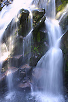 Waterfall on Mount Rainier.  Mt. Rainier is heavily glaciated, dormant volcano surrounded by alpine parks. The 14,411 foot volcano which covers 228,480 acres was designated a National Park in 1899. Jim Bryant Photo. ©2012. All Rights Reserved...