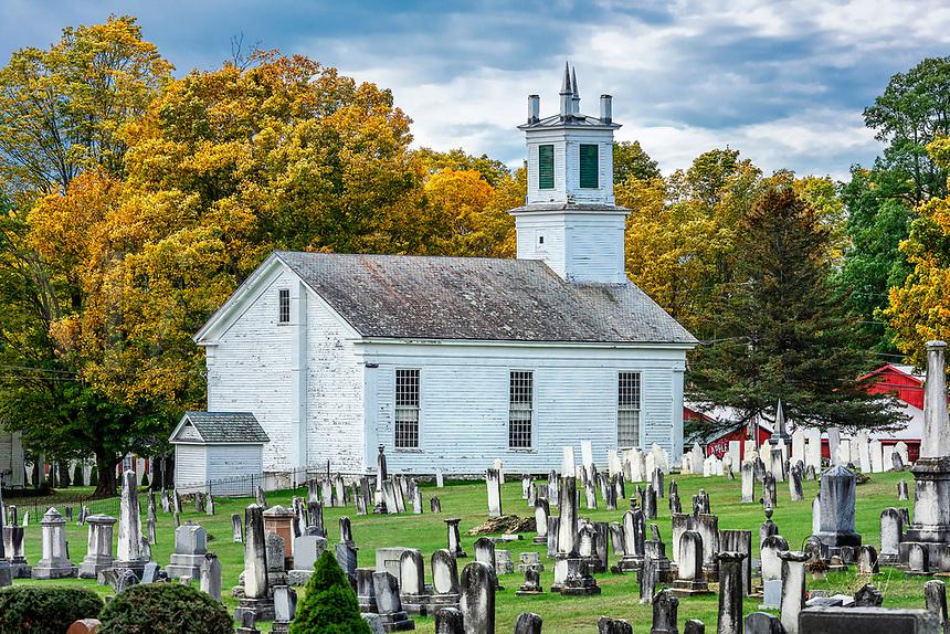 Charming rural church in Shaftsbury.