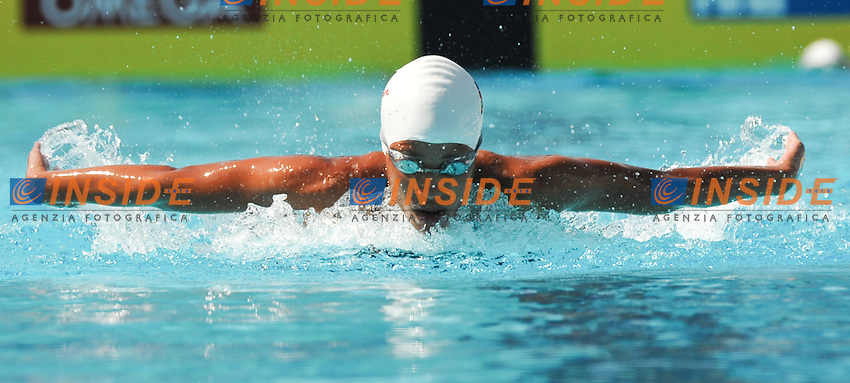 Roma 1st August 2009 - 13th Fina World Championships .From 17th to 2nd August 2009.Women's 4x200 m Medley Relay.Pina ERCOLANO (KEN).Roma2009.com/InsideFoto/SeaSee.com . .Foto Andrea Staccioli Insidefoto