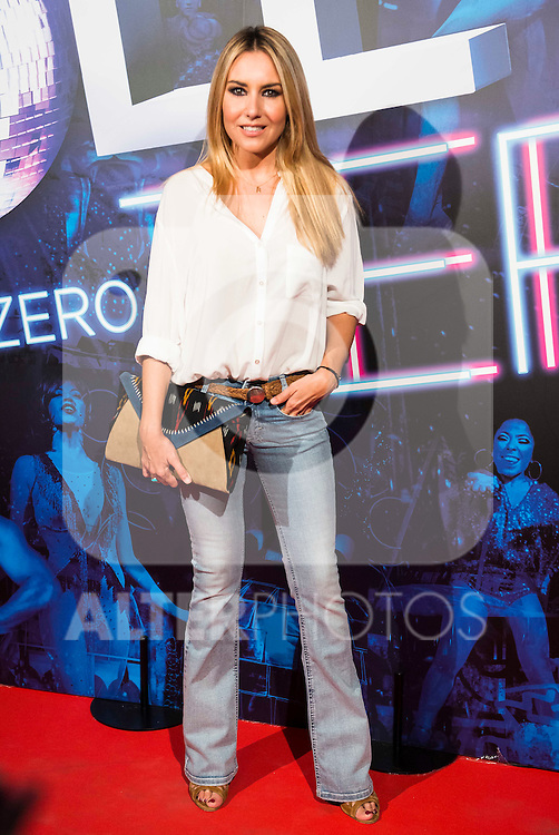Berta Collado attends to the premiere of the The Hole Zero Show at Teatro Calderon in Madrid. October 04, 2016. (ALTERPHOTOS/Borja B.Hojas)