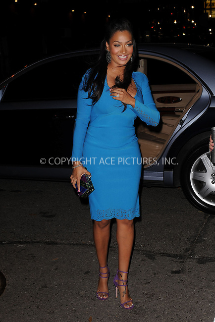 WWW.ACEPIXS.COM . . . . . .November 14, 2011...New York City....LaLa Anthony attends the 8th Annual CFDA Vogue Fashion Fund Awards at the Skylight SOHO on November 14, 2011 in New York City.....Please byline: KRISTIN CALLAHAN - ACEPIXS.COM.. . . . . . ..Ace Pictures, Inc: ..tel: (212) 243 8787 or (646) 769 0430..e-mail: info@acepixs.com..web: http://www.acepixs.com .