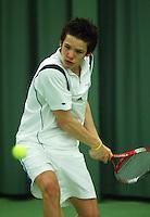 10-3-06, Netherlands, tennis, Rotterdam, National indoor junior tennis championchips, Ivo Noorlander