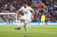 Jack Cork of Swansea City during the Barclays Premier League match between Leicester City and Swansea City played at The King Power Stadium, Leicester on April 24th 2016