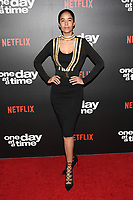 "07 February 2019 - Los Angeles, California - MASSIEL TAVERAS. Netflix's ""One Day at a Time"" Season 3 Premiere and Global Launch held at Regal Cinemas L.A. LIVE 14. Photo Credit: Billy Bennight/AdMedia"