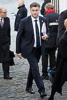 Andrej Plenkovic, Premier ministre de la Croatie,  lors du Sommet statutaire du Parti Populaire Europ&eacute;en (PPE), &agrave; Bruxelles.<br /> Belgique, Bruxelles, 15 d&eacute;cembre 2016<br /> Andrej Plenkovic ( Prime Minister of Croatia )  attends the  EPP ( European People&rsquo;s Party ) meeting in Brussels.<br /> Belgium, Brussels, 15 December 2016