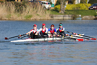Crew: 106  WRC-BALL  Wallingford Rowing Club  W 4x-<br /> <br /> Abingdon Spring Head 2019<br /> <br /> To purchase this photo, or to see pricing information for Prints and Downloads, click the blue 'Add to Cart' button at the top-right of the page.