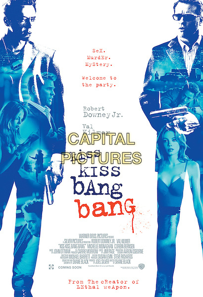 POSTER ART.in Kiss Kiss, Bang Bang.Filmstill - Editorial Use Only.CAP/AWFF.supplied by Capital Pictures.