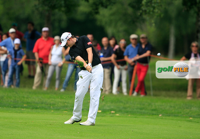 Gary Boyd (ENG) in action on the 17th hole during the Final Day of the BMW Italian Open presented by Carta Si at Royal Park I Roveri, Turin, Italy, 12th June 2011 (Photo Eoin Clarke/Golffile 2011)