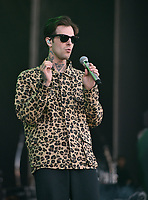 SAN FRANCISCO, CALIFORNIA - AUGUST 09: The Neighbourhood - Jesse Rutherford performs during the 2019 Outside Lands music festival at Golden Gate Park on August 09, 2019 in San Francisco, California. Photo: imageSPACE/MediaPunch<br /> CAP/MPI/ISAB<br /> ©ISAB/MPI/Capital Pictures
