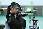 Ayano Shimizu (JPN), <br /> AUGUST 20, 2018 - Shooting - Rifle : <br /> Women's 10m Air Rifle <br /> at Jakabaring Sport Center Shooting Range <br /> during the 2018 Jakarta Palembang Asian Games <br /> in Palembang, Indonesia. <br /> (Photo by Yohei Osada/AFLO SPORT)