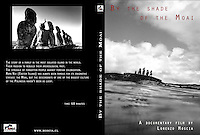 Cover of Lorenzo Moscia awarded video By the Shade of the Moaia made in Rapa Nui, Easter Island