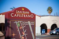 Downtown San Juan Capistrano Sign