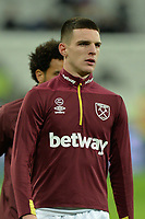 Declan Rice Of West Ham United during West Ham United vs Cardiff City, Premier League Football at The London Stadium on 4th December 2018