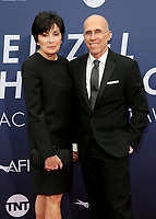 6 June 2019 - Hollywood, California - Marilyn Katzenberg, Jeffrey Katzenberg. American Film Institute's 47th Life Achievement Award Gala Tribute To Denzel Washington held at Dolby Theatre.    <br /> CAP/ADM/FS<br /> ©FS/ADM/Capital Pictures