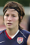 22 July 2009: Megan Rapinoe (USA). The United States Women's National Team defeated the Canada Women's National Team 1-0 at Blackbaud Stadium in Charleston, South Carolina in an international friendly soccer match.