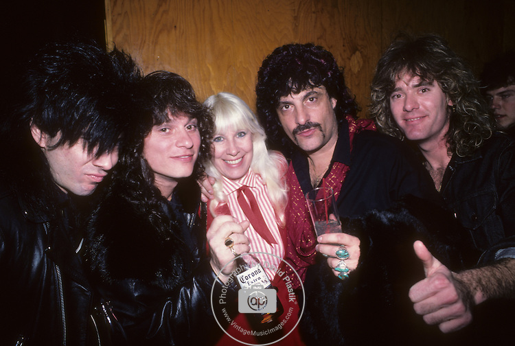 Chris Hagar, Paul Shortino, Wendy Dio, Carmine Appice, Matt Thorr