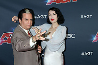 """LOS ANGELES - AUG 20:  Chris Doyle, Steffi Kay, The Sentimentalists at the """"America's Got Talent"""" Season 14 Live Show Red Carpet at the Dolby Theater on August 20, 2019 in Los Angeles, CA"""