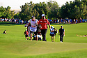 Patrick Reed (USA) during the final round of the DP World Golf Championship played at the Earth Course, Jumeira Golf Estates, Dubai 19-22 November 2015. (Picture Credit / Phil Inglis )