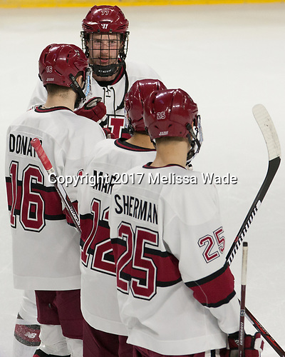 Lewis Zerter-Gossage (Harvard - 77) - The Harvard University Crimson defeated the Air Force Academy Falcons 3-2 in the NCAA East Regional final on Saturday, March 25, 2017, at the Dunkin' Donuts Center in Providence, Rhode Island.