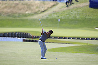 Robert Rock (ENG) on the 1st fairway during Round 1 of the HNA Open De France at Le Golf National in Saint-Quentin-En-Yvelines, Paris, France on Thursday 28th June 2018.<br /> Picture:  Thos Caffrey | Golffile