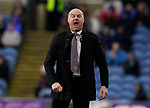 Sean Dyche manager of Burnley bellows instructions during the Premier League match at Turf Moor, Burnley. Picture date: 2nd February 2020. Picture credit should read: Andrew Yates/Sportimage