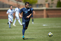 Winston-Salem, North Carolina - Saturday, April 21, 2018: The North Carolina Tar Heels defeated the Duke Blue Devils 1-0.