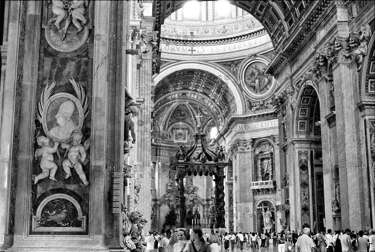 Città del Vaticano, Basilica di San Pietro --- Vatican City, The Papal Basilica of Saint Peter