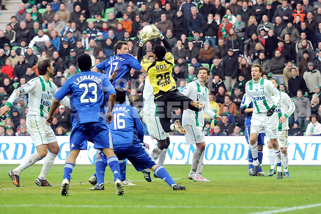 voetbal fc groningen - ajax eredivisie seizoen 2008-2009 25-01-2009 luciano redt. fotograaf jan kanning. . .