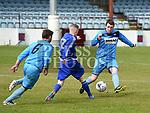 Boyne Harps (6) Johnatan Deegan (50 Darren McCann Muirhevnamor Davy Mahony. Photo:Colin Bell/pressphotos.ie